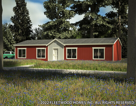 Waverly Crest 28563WFleetwood Homes – Waverly Mobile Homes Floor Plans