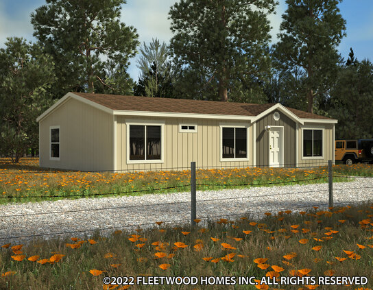 Waverly Crest 28443WFleetwood Homes – Waverly Mobile Homes Floor Plans