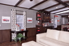 Model 16783K<br>16783K - Divider Cabinetry in Living Area