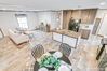 Model 28483M<br>XS28483M - Kitchen-Living Room-Dining Area overhead view
